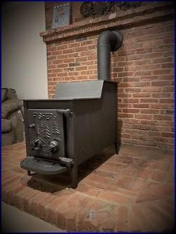 Photo wood stove Fisher PAPA BEAR {reduced}