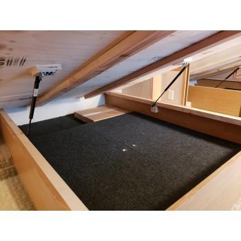 Photo Queen Bed Lift Kit - HatchLift