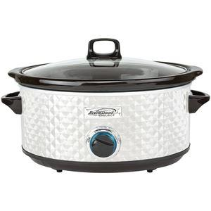 Photo Brentwood Appliances 7quart Slow Cooker Pearl White